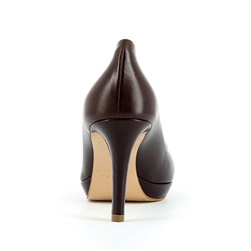 Evita Shoes Bianca - Tacones Mujer Marrón - marrón oscuro