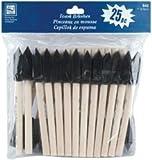 Bulk Buy: Loew-Cornell Foam Brushes 1'' 25/Pkg 1'' Wide 25/Pkg 842 (3-Pack)