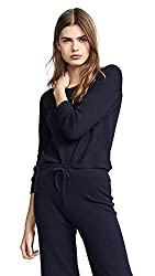 M Patmos Women S Patan Cashmere Pullover Navy Blue Large