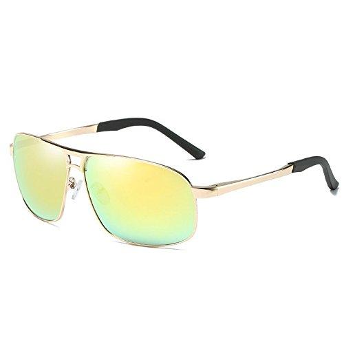 Senderismo and Polarizadas Beach Gold Uv400 Hombres Comfort mercury Gafas Personality Sol Black Deportes de Ash LANZHI Classic Driving Sandstorms Pilots wRvUxwq