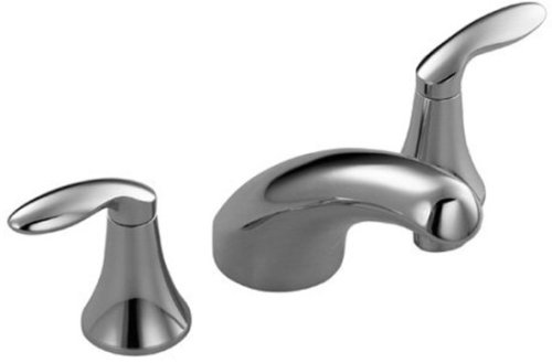 Deck Set Wide Spread Tub Filler by Kohler - K-T15290-4-VAL in Vibrant Brushed Nickel