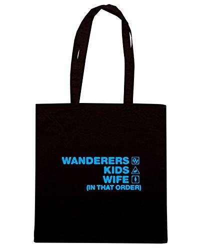 T-Shirtshock - Bolsa para la compra WC1205 wycombe-kids-wife-order-tshirt design Negro