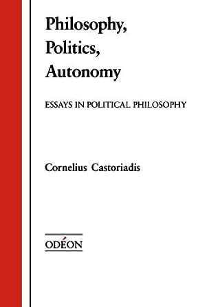 Political philosophy essay