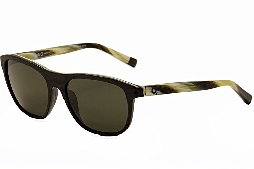 Etnia Barcelona Africa 02 BKHO Black/Horn Polarized Fashion Sunglasses 57mm by Etnia Barcelona