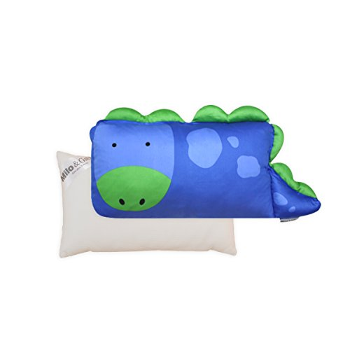 Milo & Gabby Toddler Pillowcase and Pillow Insert, Dylan The Dinosaur
