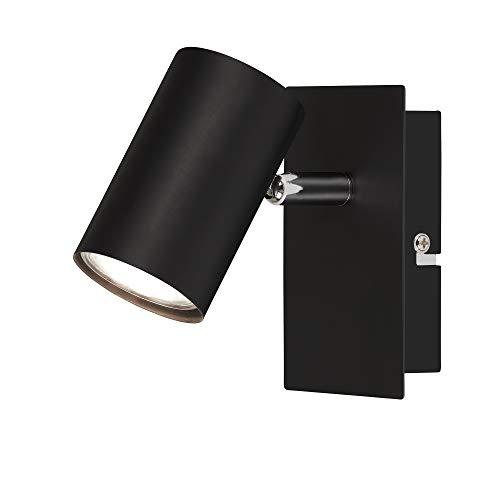 Briloner Leuchten – spot, wandspot, plafondspot, schijnwerper zwenkbaar, GU10, zwart