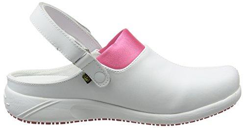 Oxypas Doria, Women's Safety Shoes, White (Fux), 5 UK (38 EU)