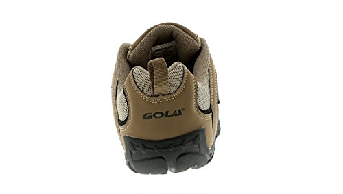 Hombre/hombre color topo / Negro Gola ELIAS Con Cordones Zapatillas - color topo / Negro - GB Tallas 6-12