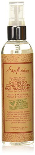 - Shea Moisture Manuka honey & mafura oil on-the-go conditioner hair fragrance by shea moisture for unisex spray, 4 Ounce