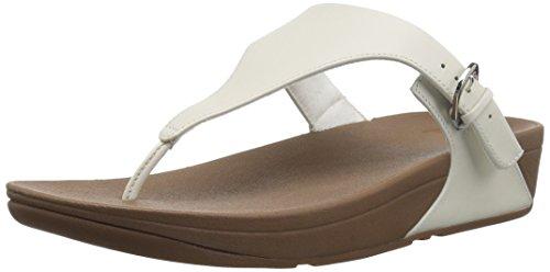 Toe 194 leather Blanco Sandals Fitflop White urban Para Mujer Con thong Pulsera Skinny Sandalia OZqx5H