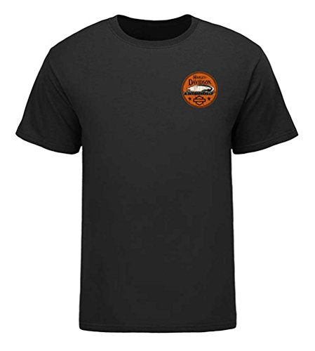 HARLEY-DAVIDSON Men's Screamin' Eagle Coin Eagle Tee, Black HARLMT0265 (2XL)