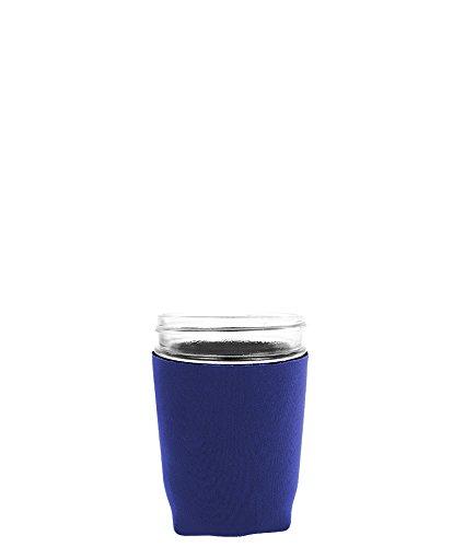 Jar-Z Mason Jar Jacket, 16 oz, Navy (Dark Blue Mason Jars)