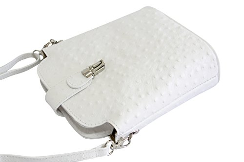 Moda AMBRA Women's Body AMBRA Moda Bag Cross White OExRnwqv