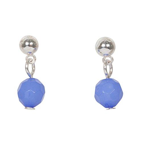 Heirloom Finds Little Girl Soccer Ball Charm Pendant Necklace Earring Set Silver Tone & Enamel