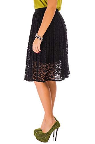 Mujer Mujer Para Para Cvb Falda Falda Negro Cvb wWq7nxxz6