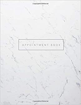 amazon com appointment book appointment book with times 15 minute