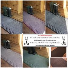 ENTRANCE MATTING CARPET RUNNER lengths SLATE GREY Carpet 66cm wide choose your own size in 1FT HALL RUNNER foot