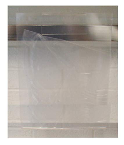 New Dimensional Rectangle Hangrail Clear Acrylic Sign Holder Vertical 11