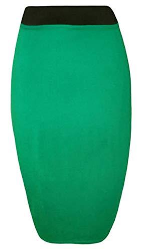 Crayon Elastique Jupe Jade Tube Purple Taille Midi Hanger Grande Femme Moulante Vert Taille 10q1xwt65a