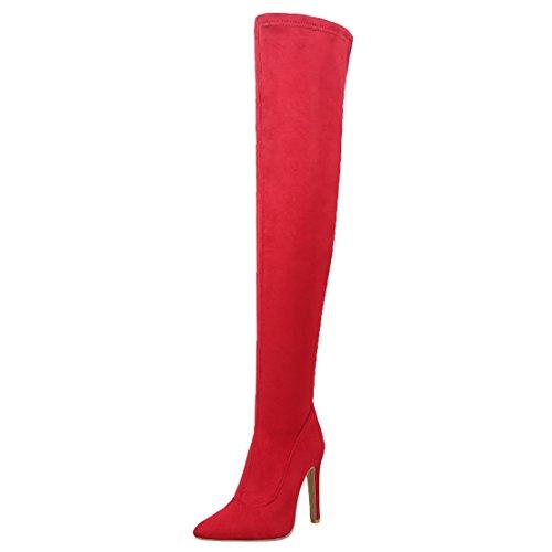 Red Women's Women's Women's Red Red Boot AIYOUMEI Classic AIYOUMEI Women's Boot Classic Classic Boot AIYOUMEI AIYOUMEI 0ZwfqfCx