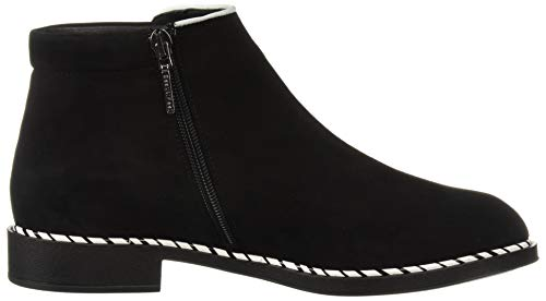 BeautiFeel Suede White Fashion Women's Marlowe Boot Black T6rSTqw