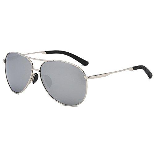Eyewear Protection Colorful Polarized Silver UV Glasses mercury Sunglasses Sun Legs Men Spring Frame Coolest Lens Sunglasses Sunglasses Driving 8SqPSxwXIp