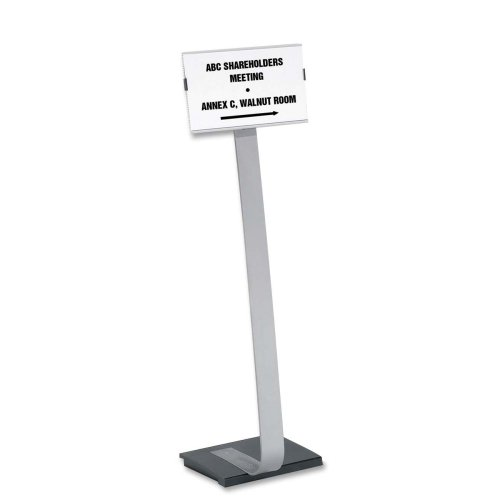 Durable Info Sign Duo Floor Sign Stand-Duo sign Stand, Versatile,11
