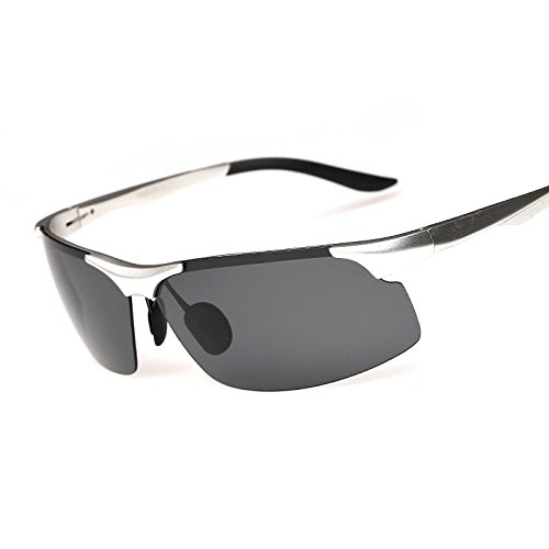 Moda De Magnesio Gafas Photocolor Sol Personalidad Gafas Gafas Vistoso De Sol Visera Photocolor Conducción Aluminio RyimsD Vida Hombres Callejera 5w17xX