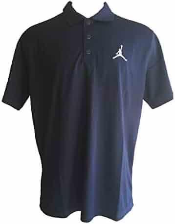 ebace444 Nike Men's Jordan Dri-Fit Team Polo Golf Style Short Sleeve Polo Shirts