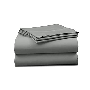 Elles Bedding Collections 500 Thread Count Bedspread 100% Cotton Sheet Set Sateen Weave Deep Pocket Breathable Premium Quality Bedding Set