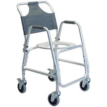 Amazon Com Lumex Aluminum Shower Transport Chair With 5