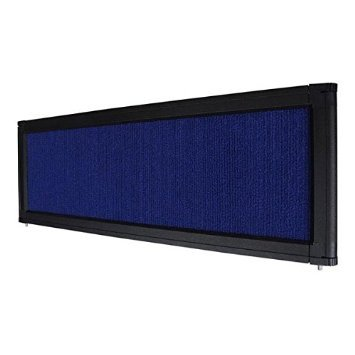 NEW LEAF Tabletop Folding Panel Display Board Header Blue by New Leaf