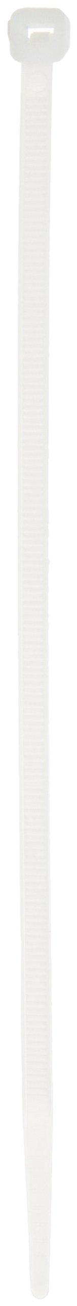 Brady 81762 7'' Length, Plastic Nylon Fasteners (Pack Of 100) by Brady