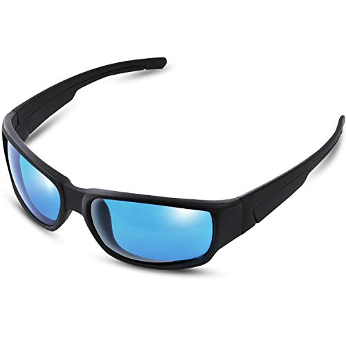 iPower Indoor Hydroponics HPS & MH Grow Room Light Glasses Goggles Anti UV, Reflection Visual Optical Protection, Blue