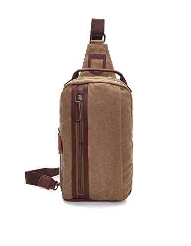 Sechunk Canvas Leather Shoulder
