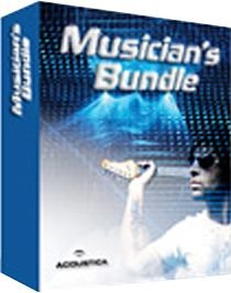(Acoustica Musician's Bundle with Mixcraft and Beatcraft Music Software)