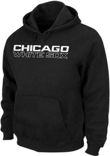 White Sox Hoodie - Majestic Chicago White Sox 300 Hitter Club Pullover Hoodie Big & Tall Sizes (5XL)
