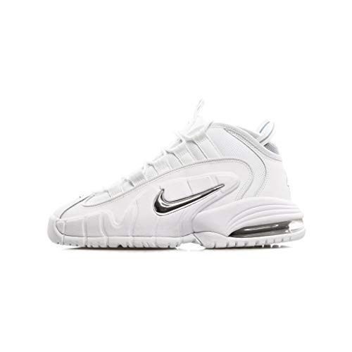 Nike Air Max Penny Men's Shoes White/Metallic Silver 685153-100 (9 D(M) US)