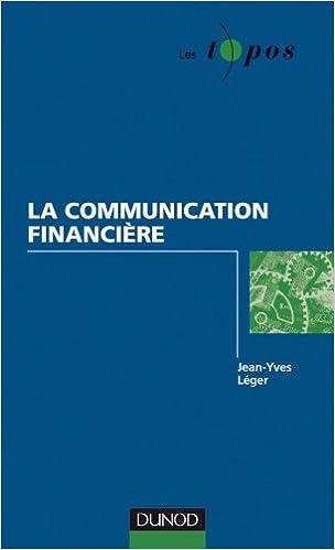 Téléchargement La communication financière epub pdf