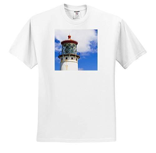 Kilauea Point - 3dRose Danita Delimont - Hawaii - Kilauea Point Lighthouse, Island of Kauai, Hawaii, USA - White Infant Lap-Shoulder Tee (6M) (ts_314811_66)