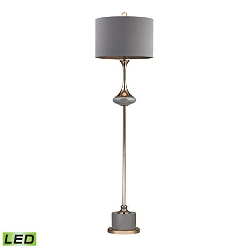 Amazon.com: Gold Fluted Neck LED Floor Lamp: Home Improvement