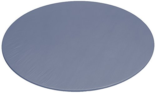 - Carnation Home Fashions 60 Inch Round Vinyl Fitted Flannel Backed Tablecloth, 60