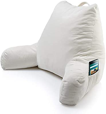 Amazon Com Keen Edge Home Reading Pillow With Arms And Pocket