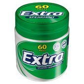 - Wrigley's Extra Spearmint Sugarfree 60 Pieces Bottle