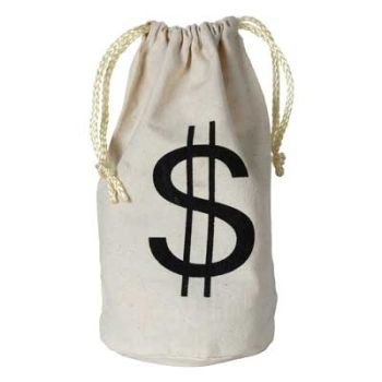 Century Novelty $ Money Bag]()
