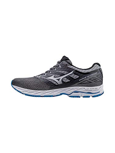 Iron Shadow (Mizuno Running Men's Mizuno Wave Shadow Running-Shoes,Iron Gate/Silver/Blue Jewel,9.5 D US)