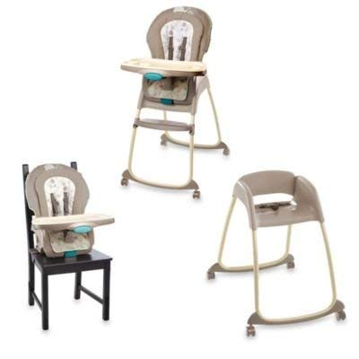 Ingenuity Trio 3-in-1 Deluxe High Chair-Sahara Burst by Inge