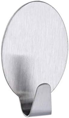 Wenko 4378210100 Gancho Maxi Mate 4 x 2.5 x 2 cm Acero INOX Juego de 2 Adhesivo