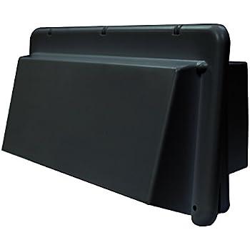 Heng's J116BK-C Range Vent Exhaust Cover - Black