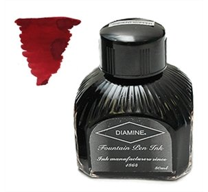 Diamine Fountain Pen Ink, 80 ml Bottle, Oxblood